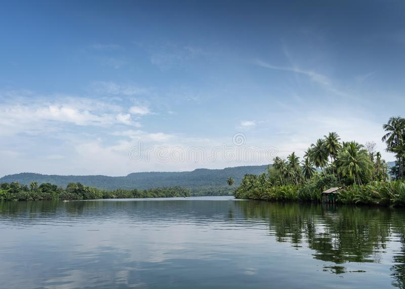 Tatai River and Cardamom Mountains